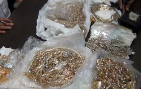 Gold Seized at airport