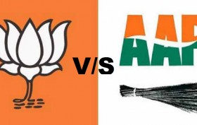 aap vs bjp