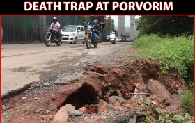Porvorim Bad Roads