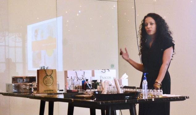 Monika Ghurde at the workshop
