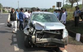 Accident Zuarinagar