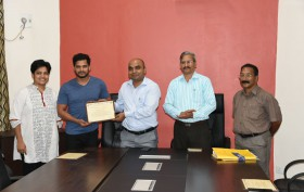 IN GOA NEWS WINS CHIEF ELECTORAL OFFICER'S MEDIA AWARD