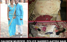 Gaunem Murder Police Nabbed Aatish Naik