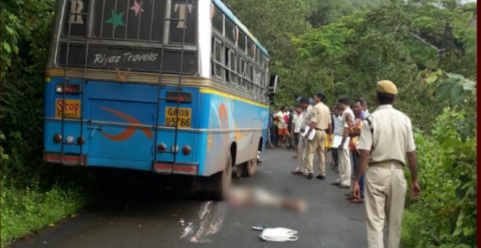 ONE DIES IN FATAL ACCIDENT AT GAODONGRI CANACONA - In Goa 24X7