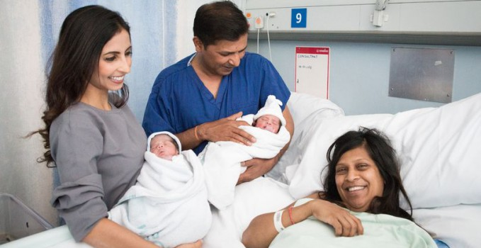 Goan Couple's Twin Babies Become World's First Twins